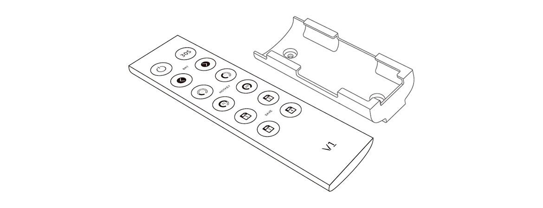 dimming remote control v1 remote led controller uff5cwireless