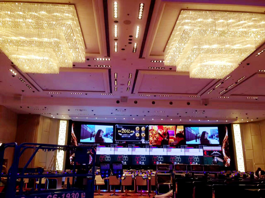 ltech the fruitful 15 years macao star world hotel led